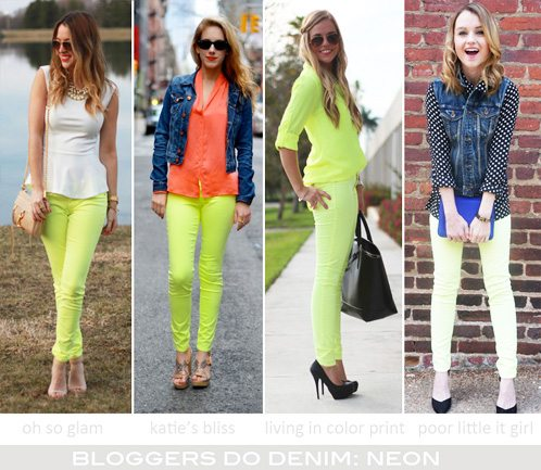 Bloggers Do Denim-Neon-1