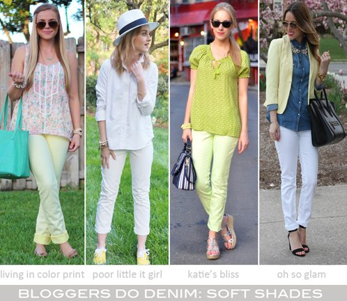 Bloggers Do Denim-Soft Shades