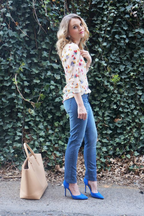Styling Spring Denim | Polka Dot - Poor Little It Girl