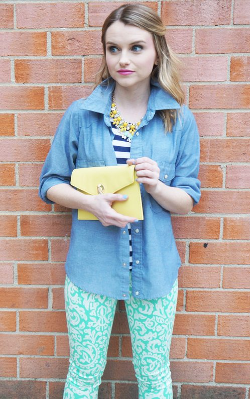 Bloggers Do Denim - Poor Little It Girl and Old Navy!