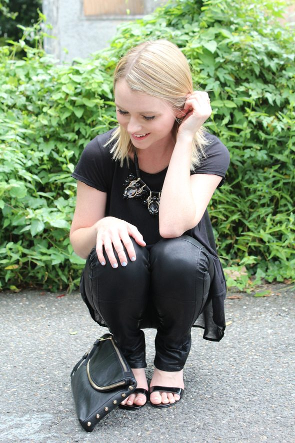How To Style Black Leather Pants Poor Little It Girl