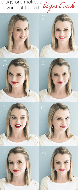 Poor Little It Girl Drugstore Makeup Overhaul for Fall: Lipstick