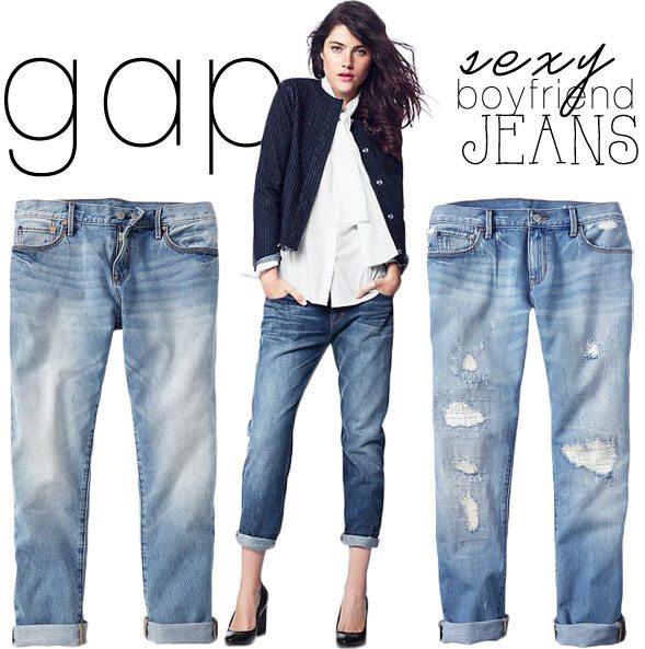 Gap Boyfriend Jeans Under $100 - Poor Little It Girl