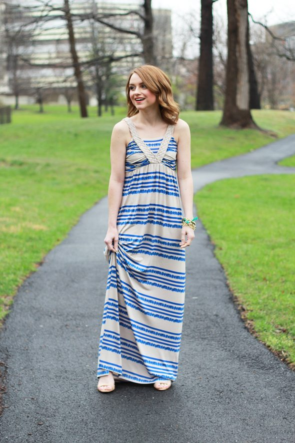 Poor Little It Girl - Design History Bohemian Maxi Dress