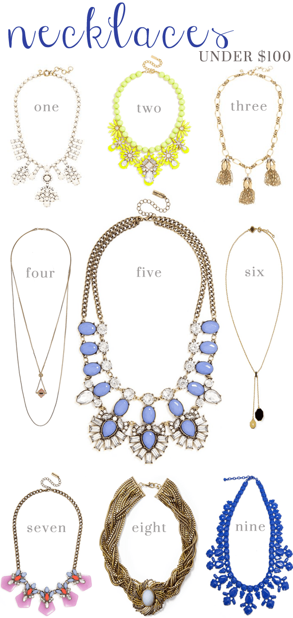 Poor Little It Girl - Necklaces For Spring Under $100