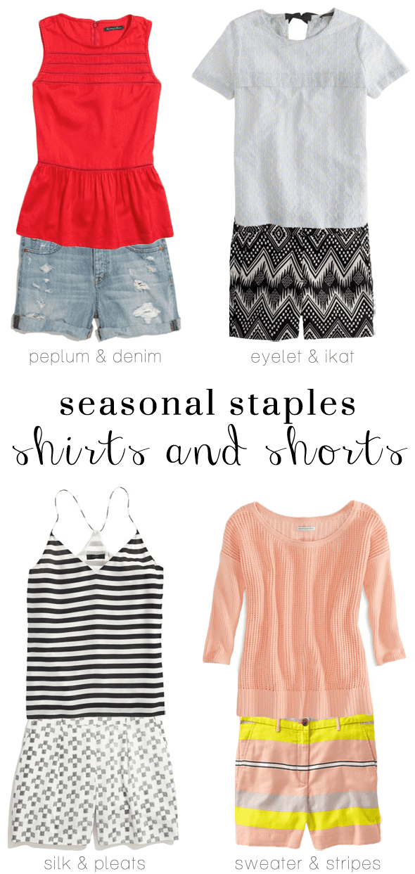 Poor Little It Girl - Shorts and Shirts Combinations