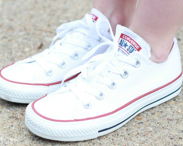 Poor Little It Girl - DSW Back To Class in Converse Sneakers