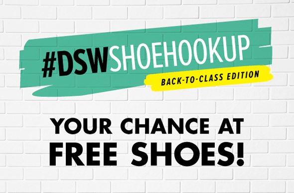 Poor LIttle It Girl - DSW SHoe Hook Up Contest!