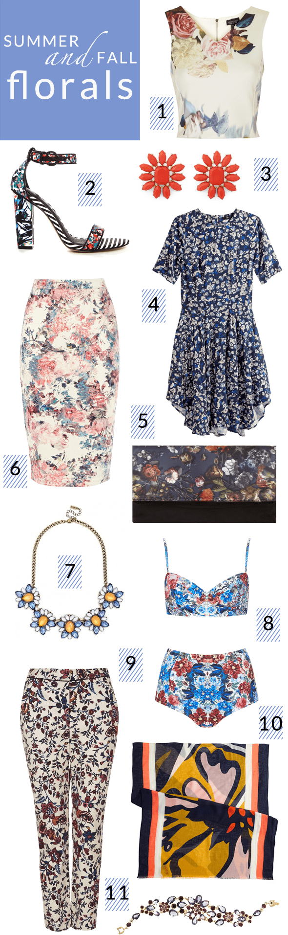 Poor Little It Girl - Fall Florals Under $100
