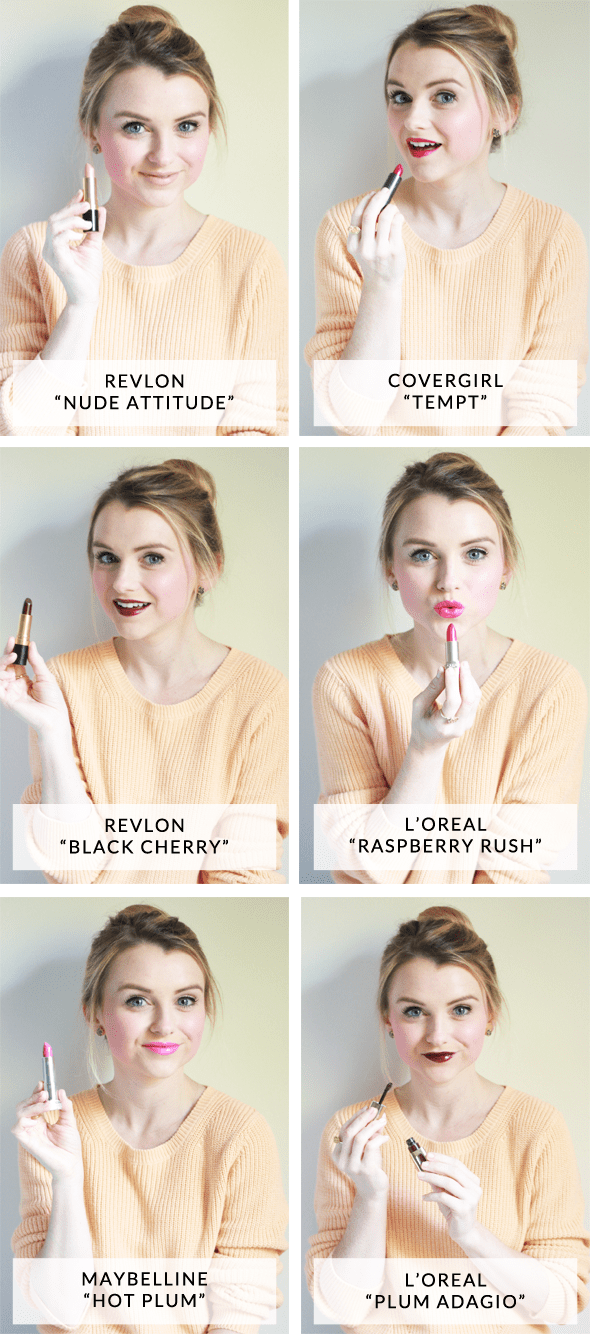 Poor Little It Girl - Favorite Fall Drugstore Lipsticks