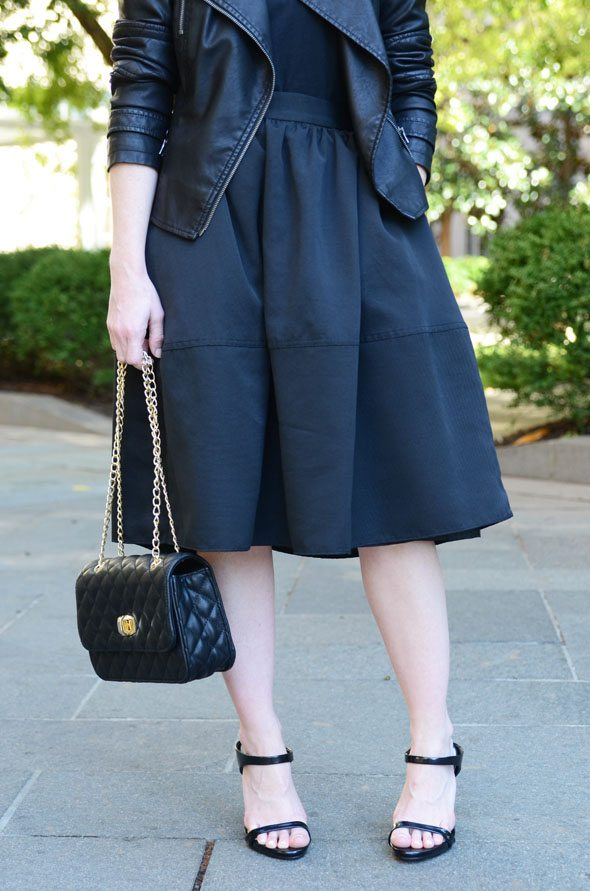 Poor Little It Girl - Head To Toe Black For Fall