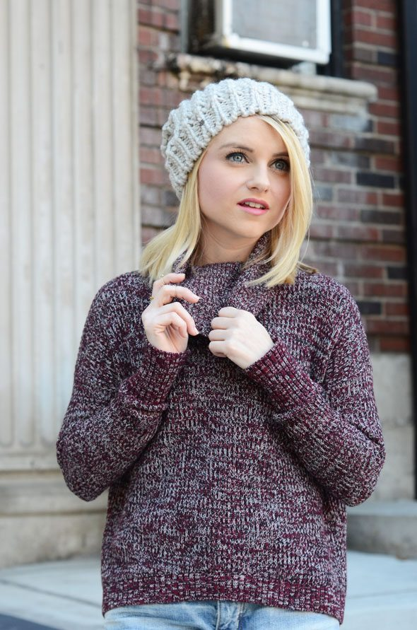 Poor Little It Girl - American Eagle Outfitters Knits and Boyfr