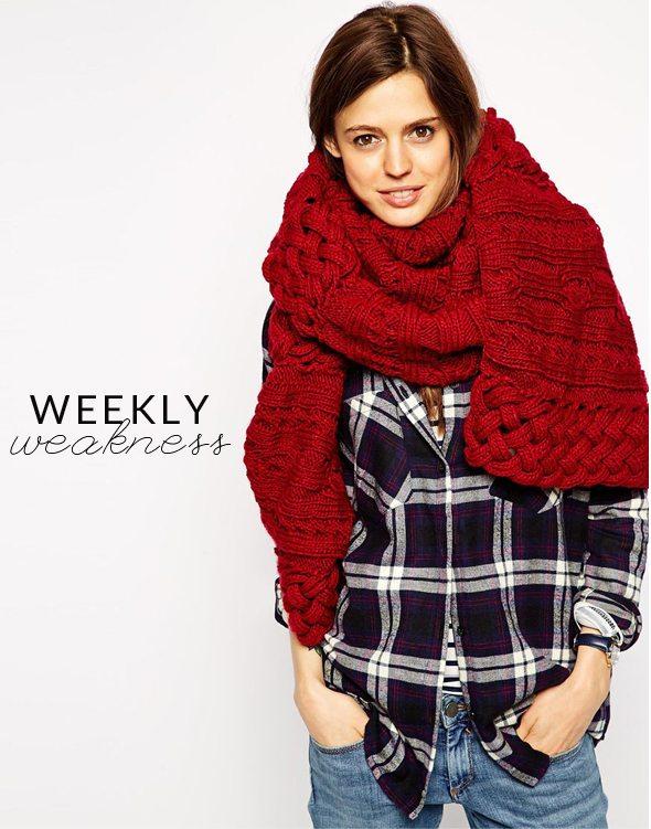 Poor Little It Girl - Weakly Weakness - Oversized Blanket Scarves