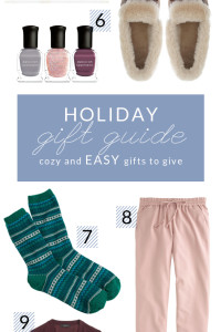 Holiday Gift Guide – Cozy and Easy Gifts To Give