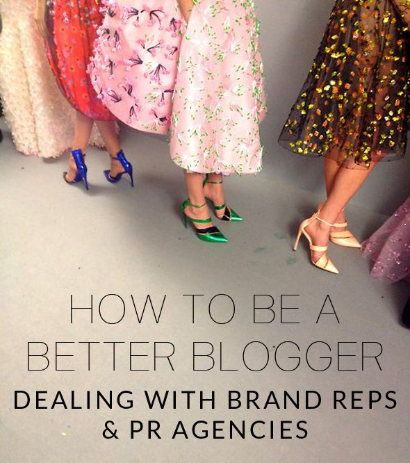 Blogging Tips on Dealing With PR Reps - Poor Little It Girl