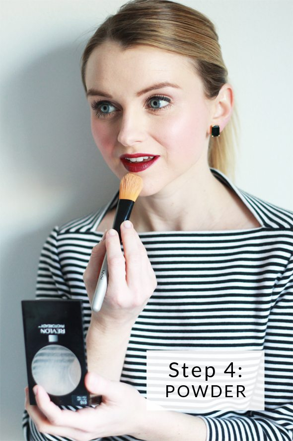 Poor Little It Girl - How To Do A Bold Lip Step 4