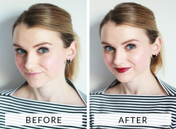 Poor Little It Girl - How To Do A Bold Lip