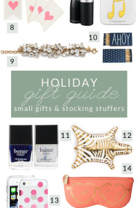 Holiday Gift Guide – Small Gifts & Stocking Stuffers