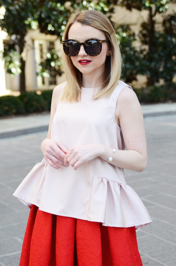 Poor Little It Girl - Pink And Red Valentine's Day Look