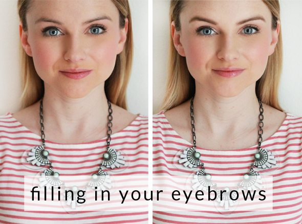 Poor Little It Girl - How To Fill In Your Eyebrows