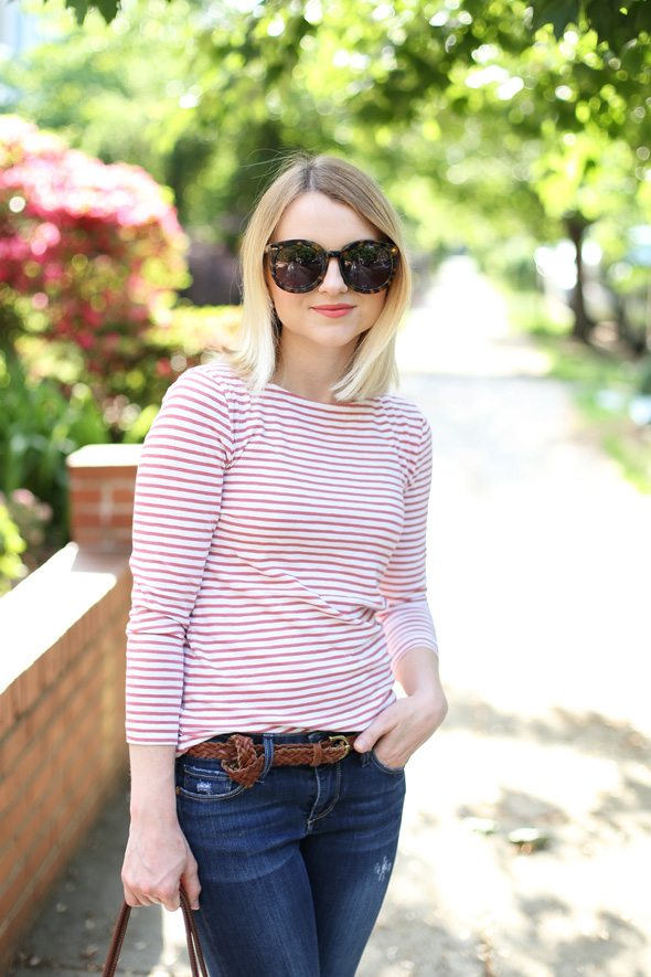 Jean and T-Shirt - via @poorlilitgirl