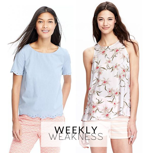 Weekly Weakness - Old Navy Spring Shirts