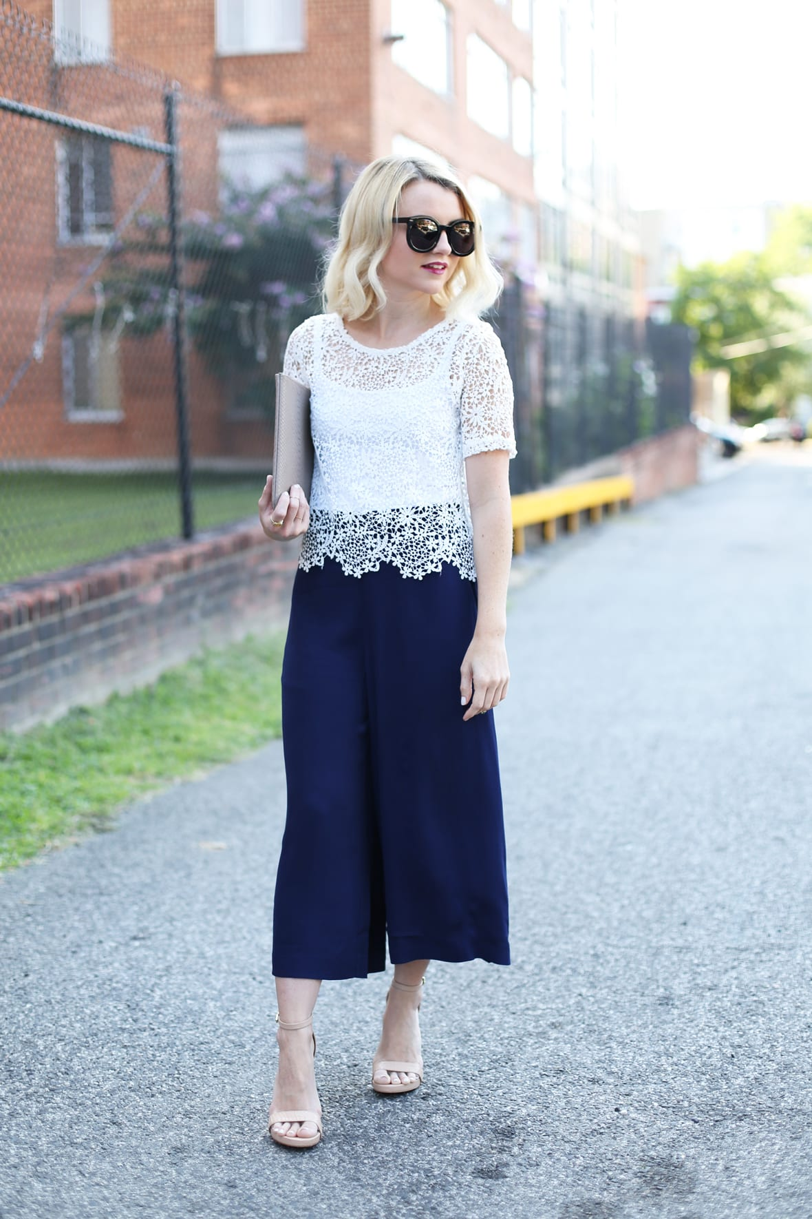 Poor Little It Girl - How To Wear Culottes When You're Petite - @poorlilitgirl