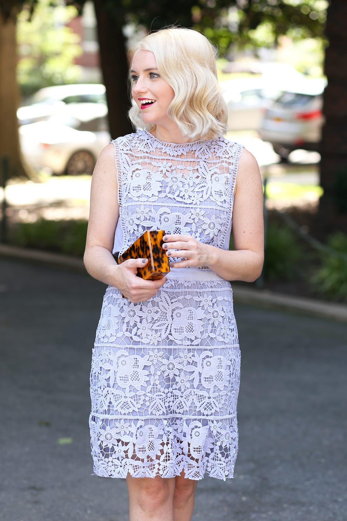 Poor Little It Girl - Lavender Lace Dress @poorlilitgirl