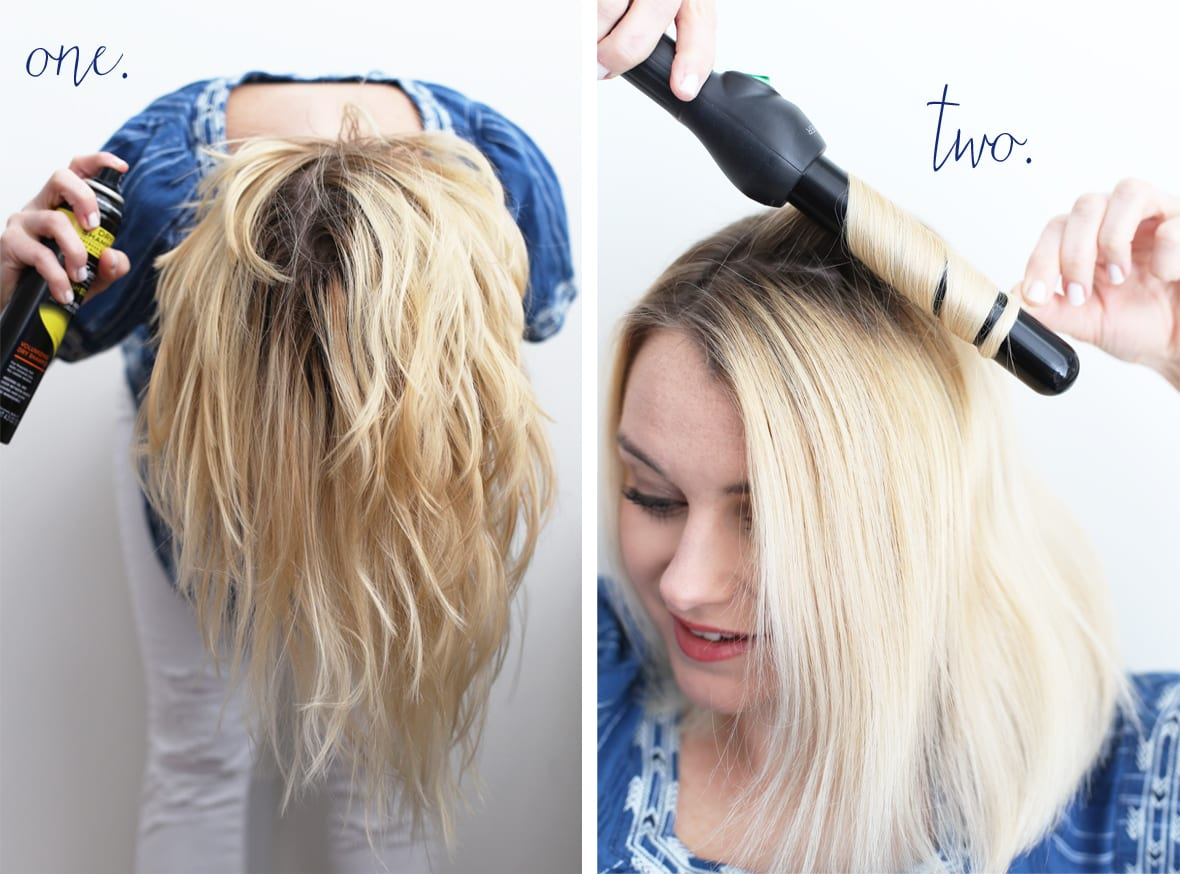 Superb How To Create Loose Waves On Short Hair Poor Little It Girl Hairstyles For Women Draintrainus