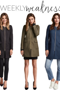 Poor Little It Girl - H&M Textured Weave Coat - @poorlilitgirl