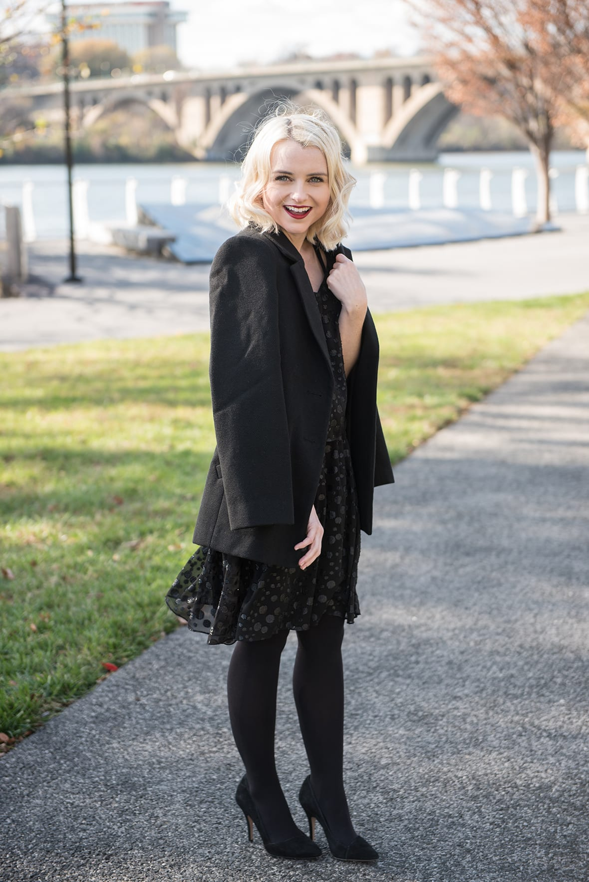 Poor Little It Girl - Head To Toe Black For New Years Eve - @poorlilitgirl