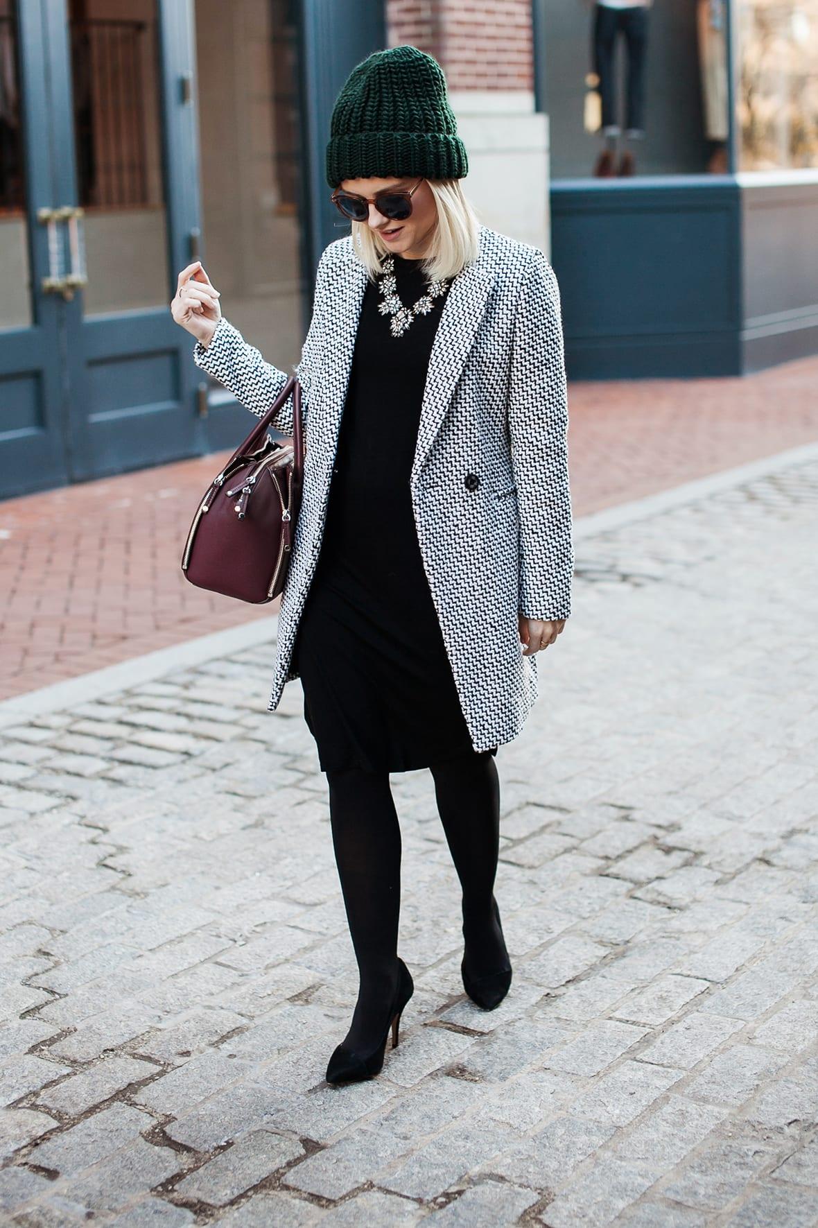 Poor Little It Girl - Tweed Coat - @poorlilitgirl