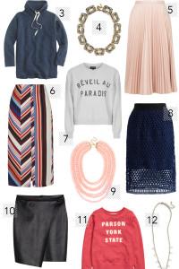 Poor Little It Girl - Sweatshirts Skirts and Statement Necklaces - @poorlilitgirl