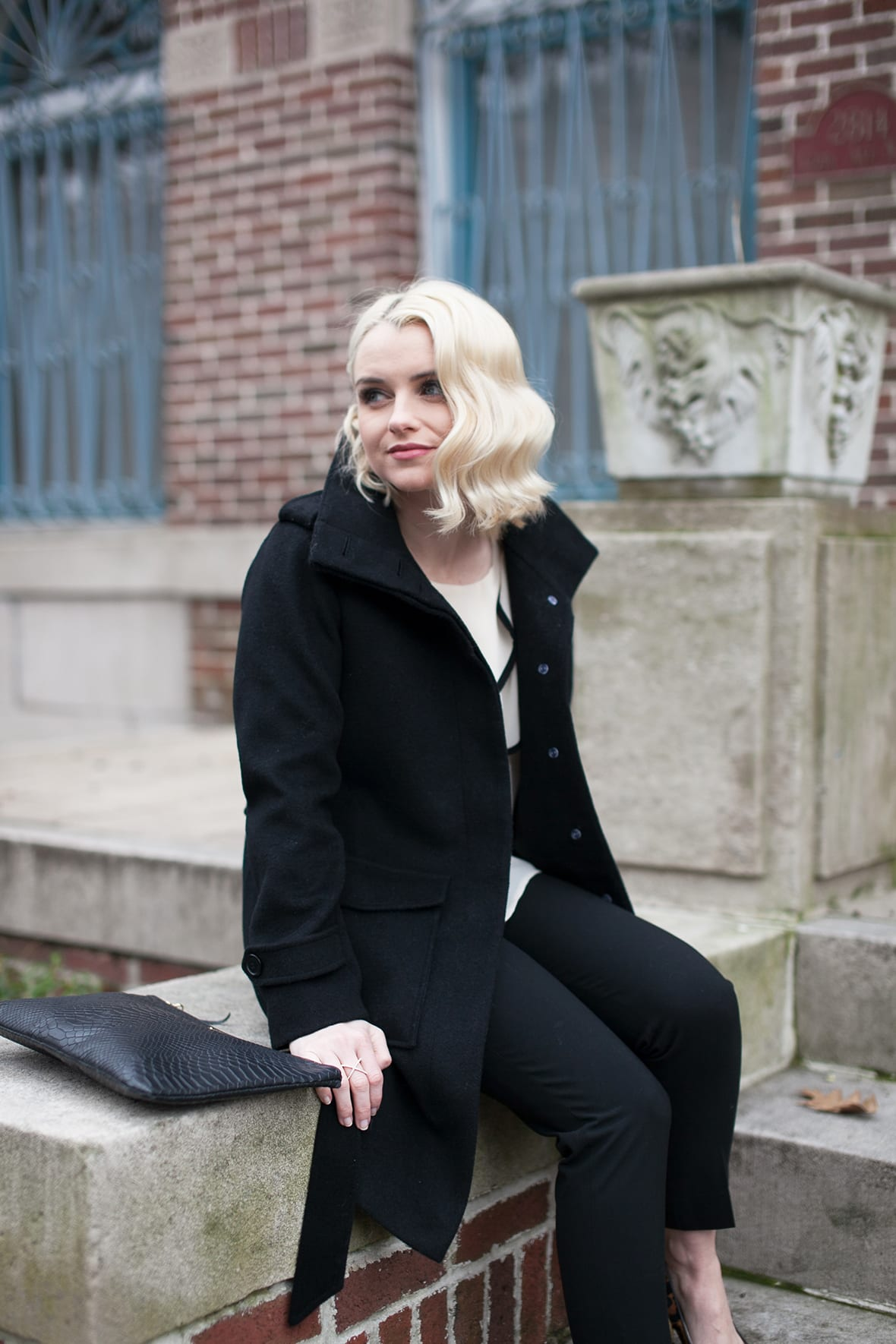 Poor Little It Girl - Black White and Leopard - @poorlilitgirl