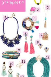 Poor Little It Girl - Summer Statement Jewelry - @poorlilitgirl