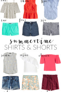 Poor Little It Girl - Summertime Shirts and Shorts - @poorlilitgirl