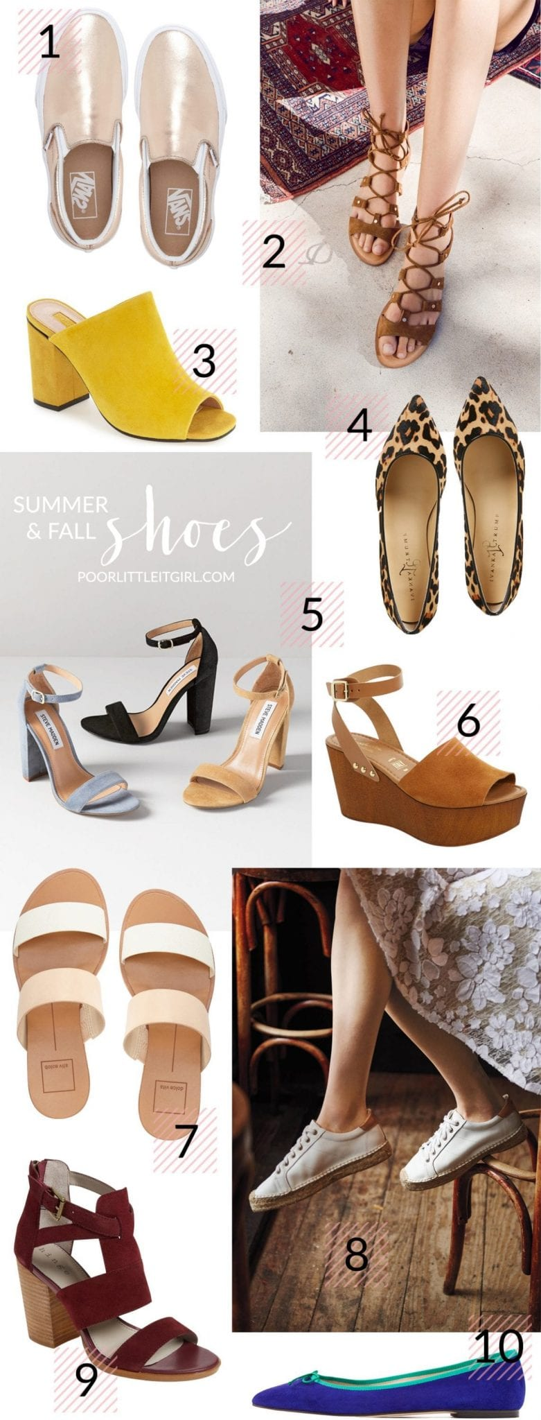 Poor Little It Girl - Summer and Fall Shoes - @poorlilitgirl