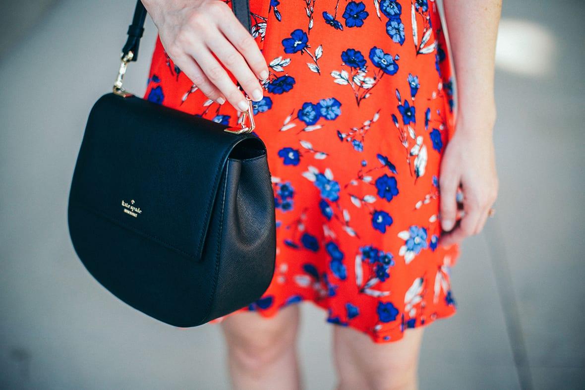 Poor Little It Girl - Printed Floral Dress - @poorlilitgirl