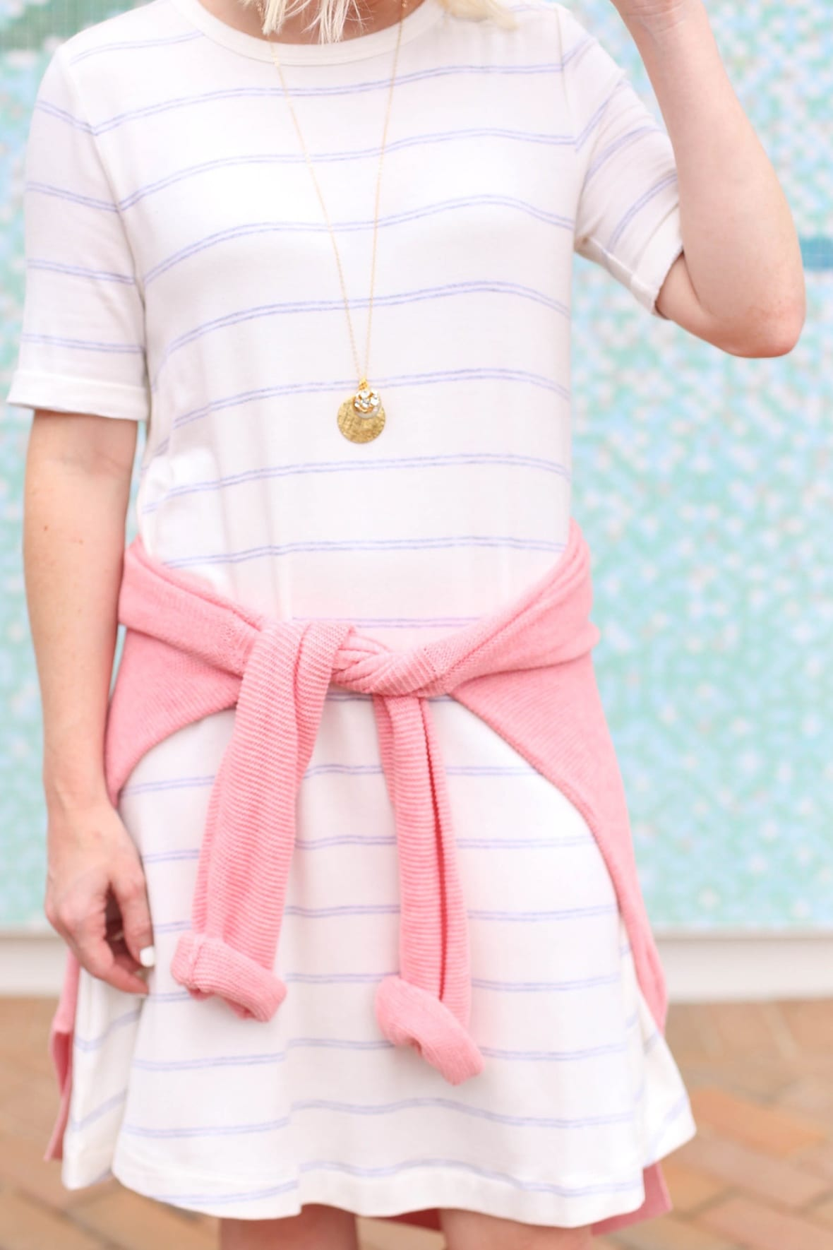 Poor Little It Girl - Striped Swing Dress - @poorlilitgirl