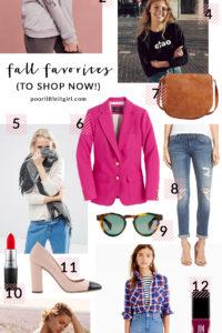 Poor Little It Girl - September Style Trends To Shop Now! - @poorlilitgirl