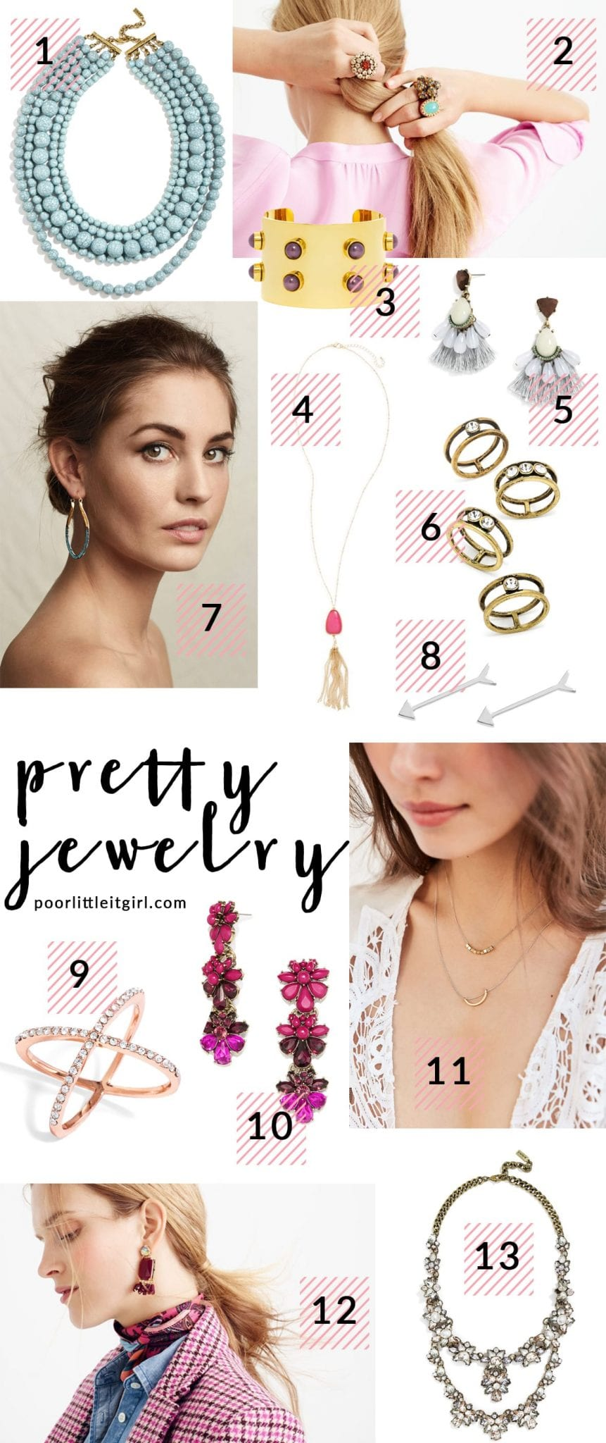 Poor Little It Girl - Pretty Jewelry - @poorlilitgirl