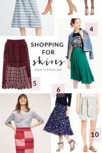 Poor Little It Girl - Summer To Fall Transitional Skirts - @poorlilitgirl