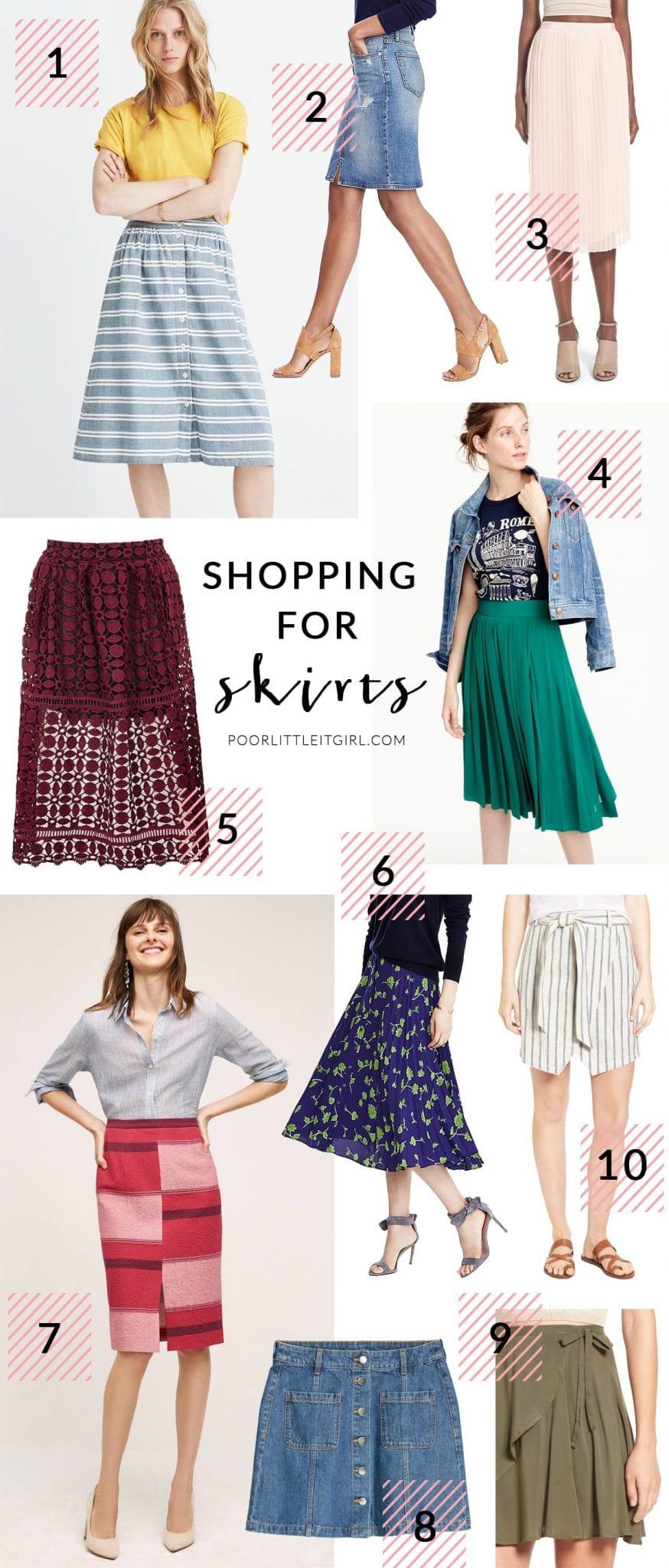 Poor Little It Girl - Summer To Fall Transitional Skirts - @poorlilitgirl