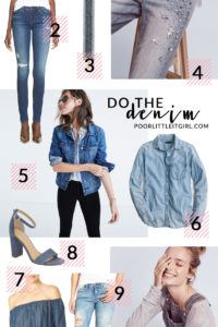Poor Little It Girl - Do The Denim - @poorlilitgirl