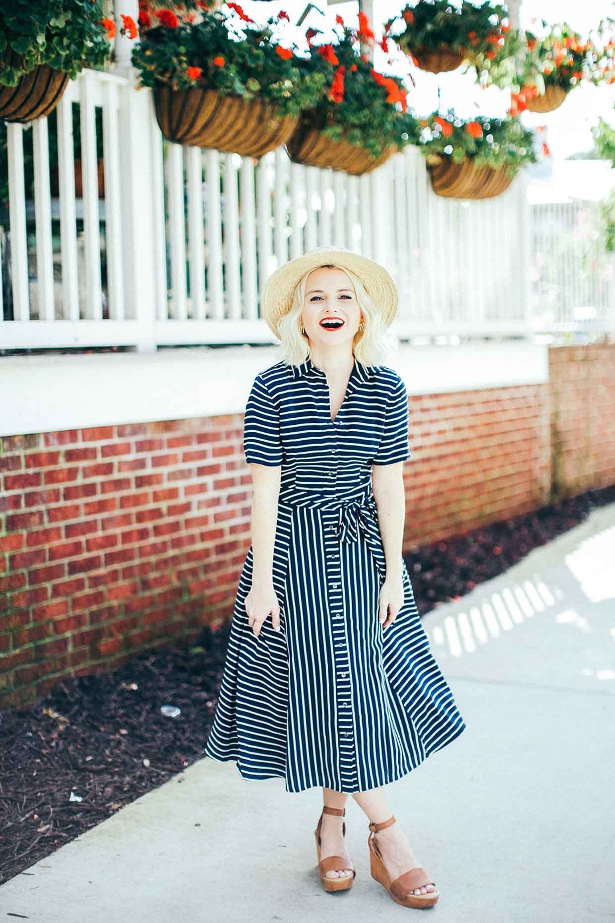 Stripe Dress For Summer and Fall - Poor Little It Girl
