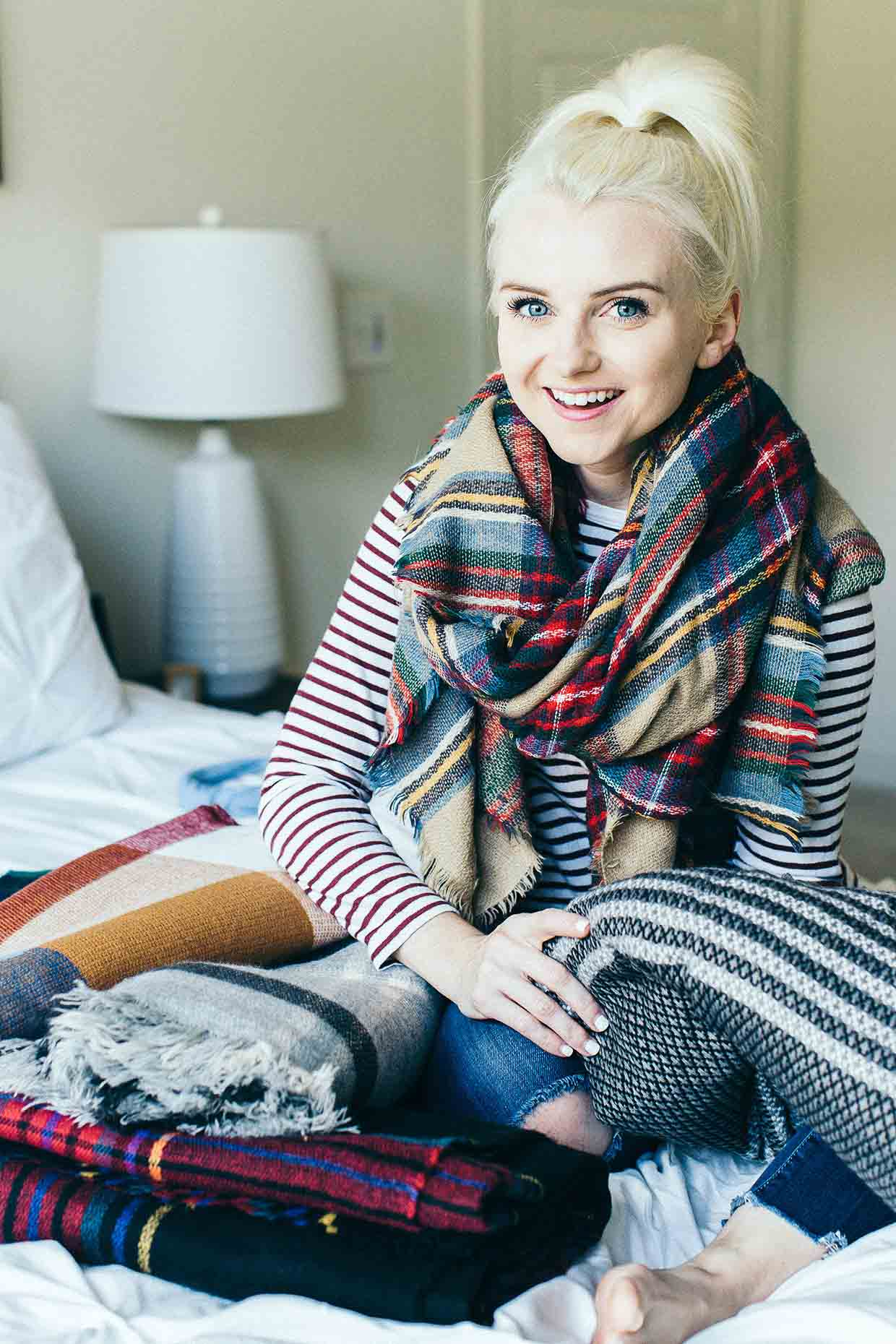Best Blanket Scarves - Poor Little It Girl