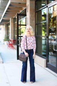How To Wear Flare Jeans When You're Petite - Poor Little It Girl