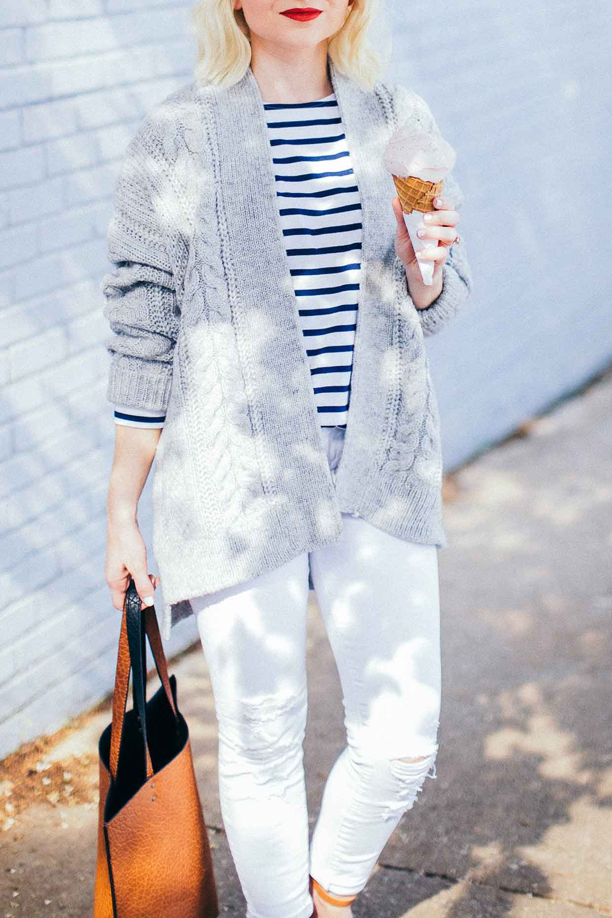 Gap Grey Sweater - Poor Little It Girl