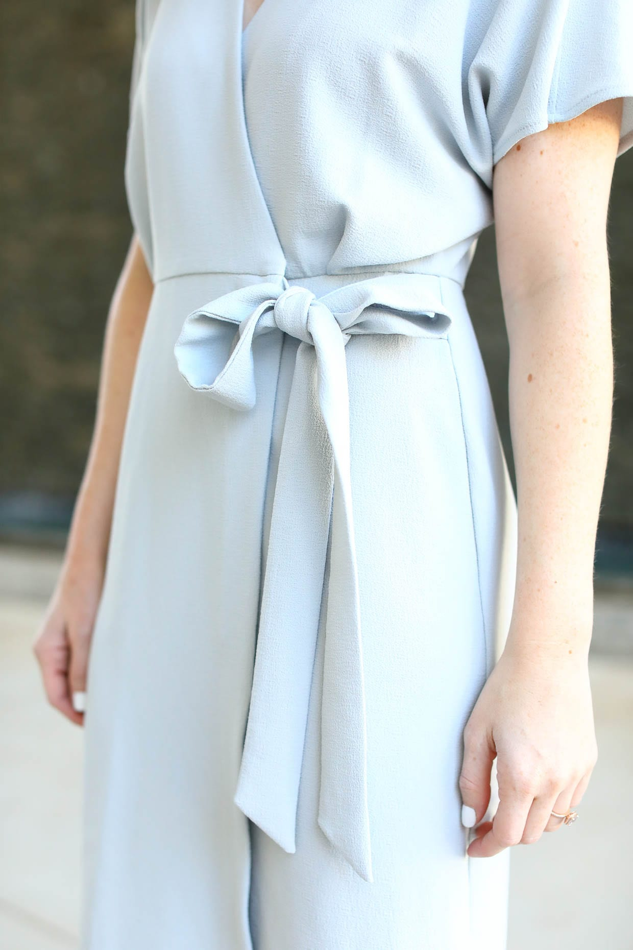 Topshop Petite Blue Wrap Dress - Poor Little It Girl