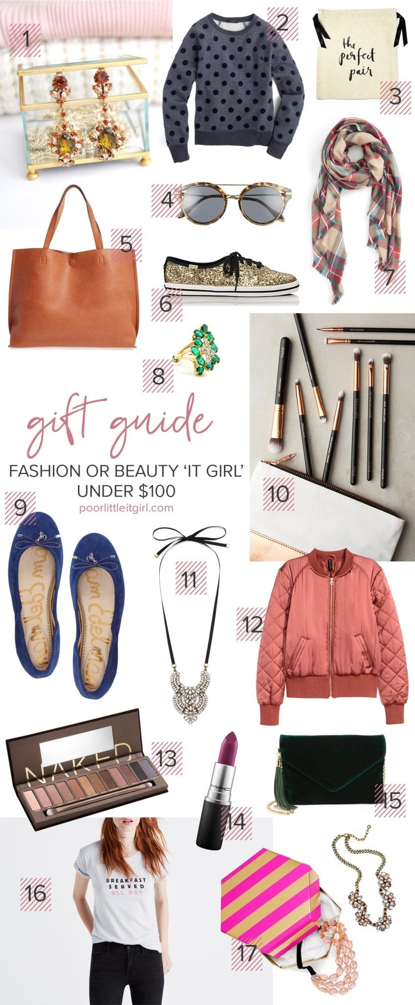 Beauty And Fashion Girl Gift Guide - Poor Little It Girl